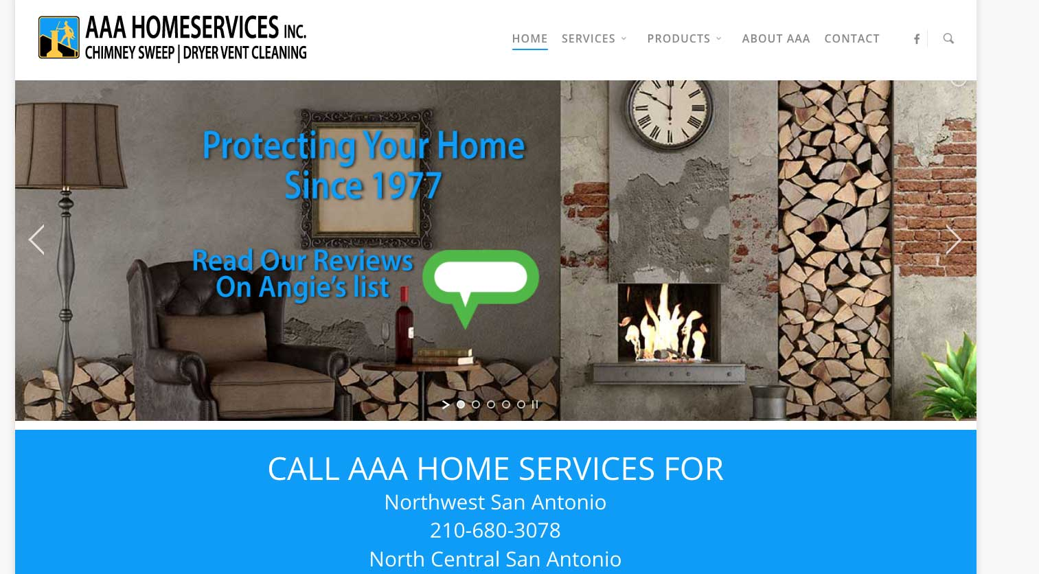 Aaa Home Services Website Design Cypress Tx Seo Web
